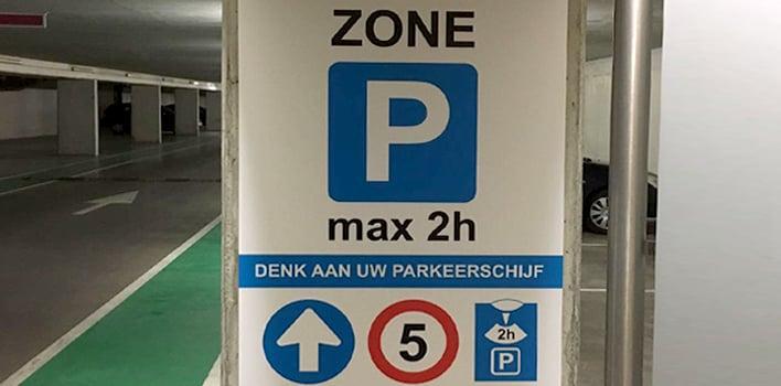parkeergarage Blomsma Print & Sign bewegwijzering signing veiligheid