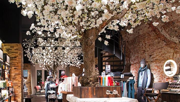 Interieurdecoratie Retail Trends Beleving creatieve unieke ontwerpen