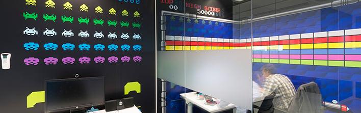 Coolblue foliewrap kantoor